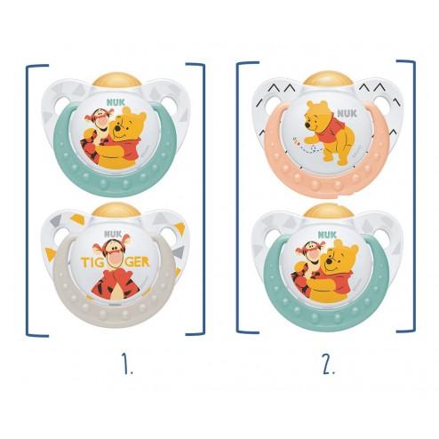 Chupete Nuk Latex Disney T1 (0-6 meses) 2 unidades