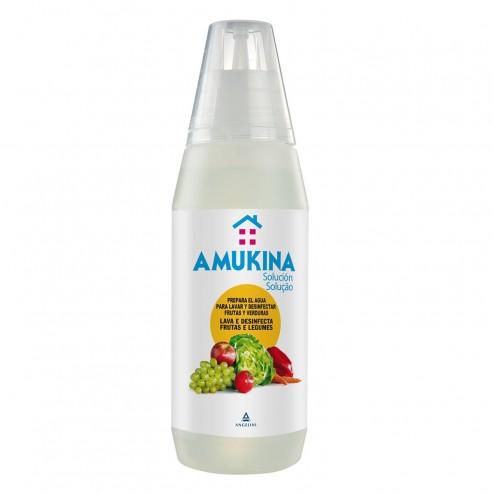Amukina Desinfectante Verduras y Frutas 500 ml