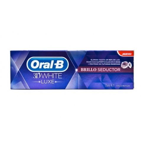 Orala-B Pasta Dentífrica 3D White Brillo Seductor, 75ml