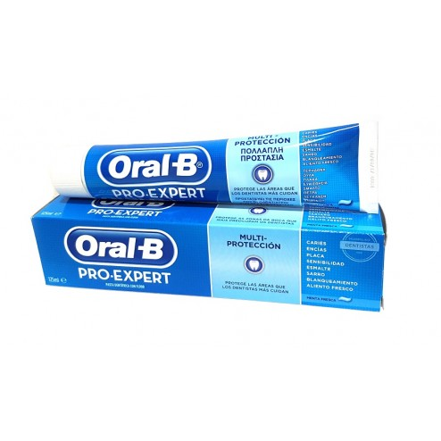 Pack Oral-B Pro Expert Multiprotección Pasta 125ml x 2 Ud.