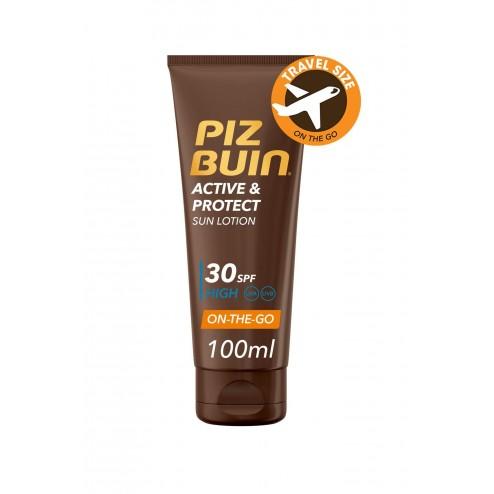 Piz Buin Activ & Protect Locion SPF30 100ml
