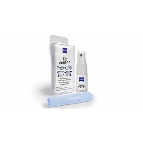 Zeiss Kit AntiFog Spray Protección Antivaho 15 ml + Gamuza Antivaho 13 x 13 cm
