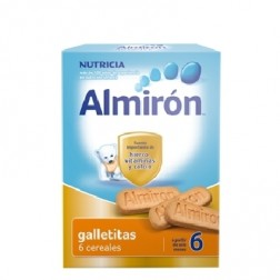 Papilla de cereales Almiron Advance Galletitas 6 cereales 180 gr