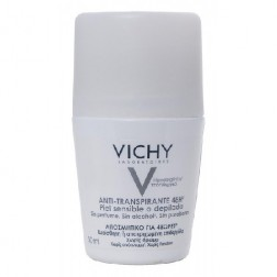 Vichy Desodorante Piel Sensible Roll-on, 50ml