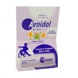 Arnidol Gel stick barra 15 ml, contra los golpes