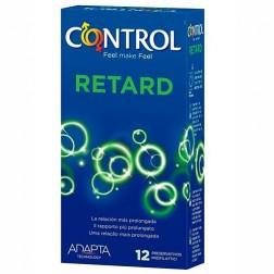Control Adapta Retard Preservativos, 12Ud