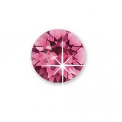Bijoux Pendiente Hipoalergenico Cristal Rosa 4 mm