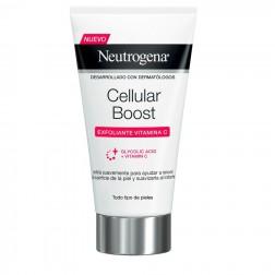 Neutrogena Cellular Boost Crema Exfoliante Vitamina C 75 ml