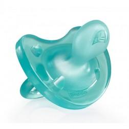 Chupete Chicco Todo Silicona Azul 6-16 meses 1 unidad