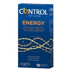 Control Preservativos Energy 12ud
