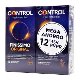 Pack Control Adapta Finissimo Preservativos, 12Ud x 2
