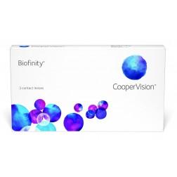 Lente De Contacto Mensual Biofinity (3 Lentes) Hipermetropía Elige Dioptría