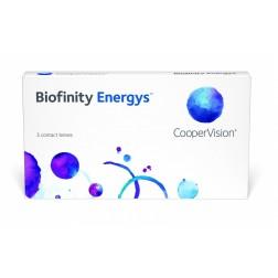 Lentes De Contacto Mensual Biofinity Energys (3 Lentes) Hipermetropía Elige Dioptría