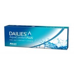 Lentes De Contacto Diaria Dailies Aquacomfort Plus (30 Lentes) Elige Dioptría