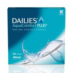 Lentes De Contacto Diaria Dailies Aquacomfort Plus (90 Lentes) Elige Dioptría