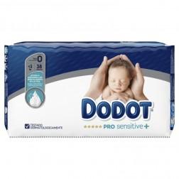 Pañal Infantil Dodot Pro Sensitive + Talla 0 3 kg 38 unidades