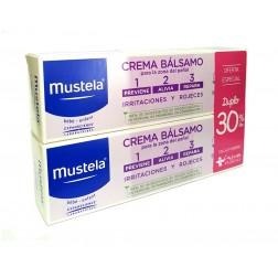 Duplo Mustela Crema Balsamo 2x 100 ml 30% descuento en la 2º unidad