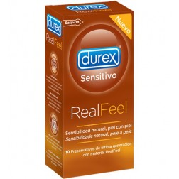 Durex Real Feel Preservativos sin Latex 12ud.