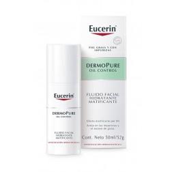 Eucerin Dermopure Oil Control Fluido Facial Hidratante 50 ml