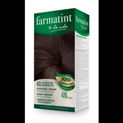 Farmatint Gel 4N Castaño