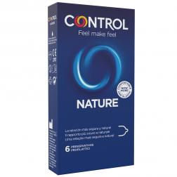 Control Adapta Nature Preservativos, 6 UD