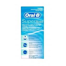 Hilo Dental Oral-B Superfloss 50 Ud