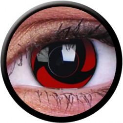 Lentes de Contacto Crazy Lens 14mm Mangekyu Trimestral