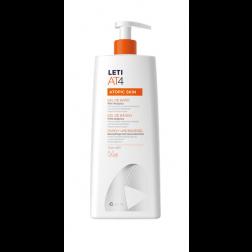 LetiAT4® gel de baño dermograso 750 ml Pieles atopicas o secas