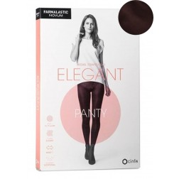 Panty de Compresión Novum Elegant Color Chocolate T2