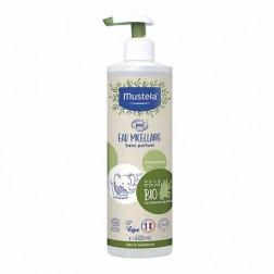 Mustela Agua Micelar Bio 400 ml con dosificador