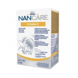 Nan Care Vitamina D gotas 5 ml