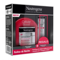 Neutrogena Cellular Boost Crema Noche 50 ml + Regalo Neutrogena Cellular Boost Contorno de ojos 15 m