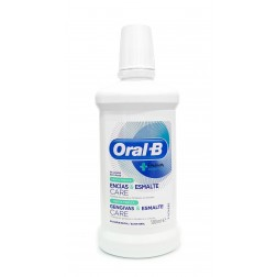 OralB Enjuague Bucal Encías & Esmalte Care Menta Fresca 500 ml