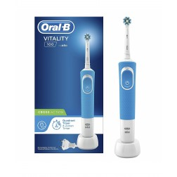 Cepillo Oral B Vitality CrossAction Azul