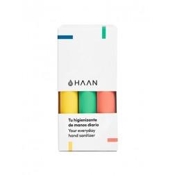 Pack Haan Hand Sanitizer 3 unidades (Verde + Amarillo + Naranja)