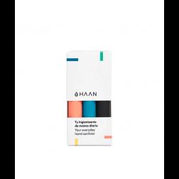 Pack Haan Hand Sanitizer 3 unidades (Negro + Azul + Naranja)