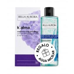 Bella Aurora K-alma Contorno de ojos 15 ml + Bella Aurora Agua Micelar 100 ml de Regalo