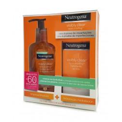 Pack Neutrogena Visibly Clear Spot Hidratante+ Limpiador diario