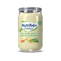Nutriben Potito Crema de Patata, Puerro y Zanahoria 235 g