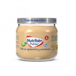 Nutriben Potito Inicio a la Carne Pollo con Guisantes y Zanahorias 120 g