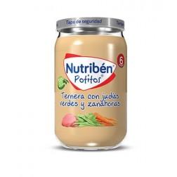 Nutriben Potito Ternera con Judias Verdes y Zanahorias 235 g