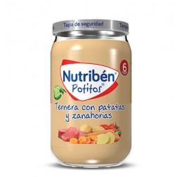Nutriben Potito Ternera con Patatas y Zanahorias 235 g