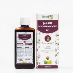 Herbalgem Jarabe de los Fumadores-Pulmones BIO 250 ml
