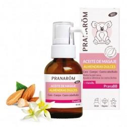 Pranabb Aceite de Masaje de Almendras Dulces 30 ml