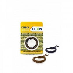Pulsera Aromática Dexin Étnica con Citronela 2 unidades