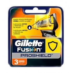 Recambio Gillette Fusion Proshield 3 unidades
