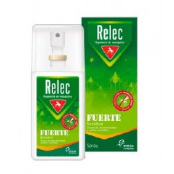 Relec Repelente de Mosquitos Fuerte Spray, 50ml