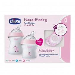 Set Chicco Natural Feeling Rosa