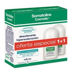 Somatoline Duplo Desodorante Hipersudoración Roll On