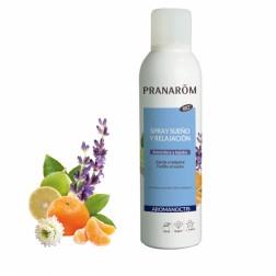 Pranarom Aromanoctis Spray Sueño y Relajación Atmósfera y Tejidos Bio 150 ml